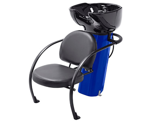 Ace Backwash Chair With Adjustable Backrest Blue 200kg