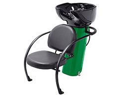 Ace Backwash Chair With Adjustable Backrest Green 200kg