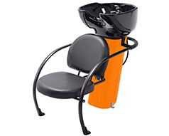 Ace Backwash Chair With Adjustable Backrest Orange 200kg