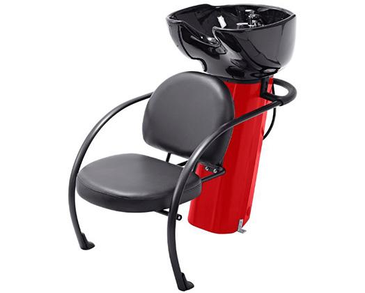 Ace Backwash Chair With Adjustable Backrest Red 200kg