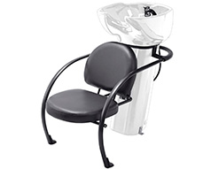 Ace Backwash Chair With Adjustable Backrest White 200kg