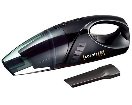 Casals Vacuum Cleaner Handheld Wet & Dry Plastic Black 100W