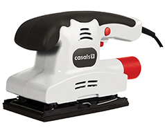 150W Orbital Sander with Trigger Locking Switch