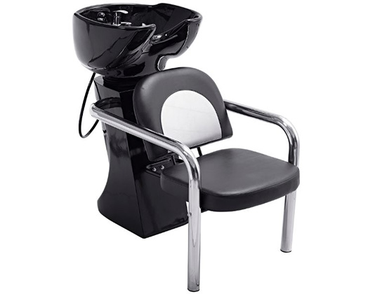 Lucky Backwash Chair With Adjustable Backrest Black 200kg