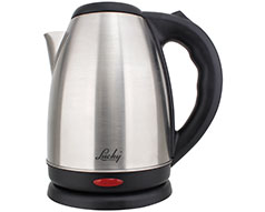 Lucky Kettle 360 Degree Cordless Stainless Steel Brushed 1.7L 1800W