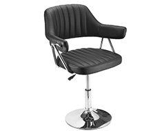 Lucky Styling Chair Black 150kg