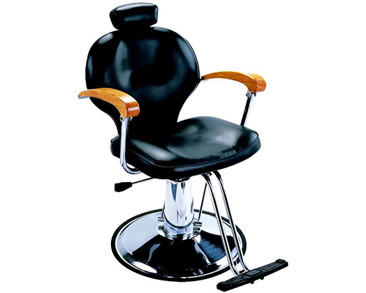 Lucky Styling Chair With Adjustable Backrest Black 150kg