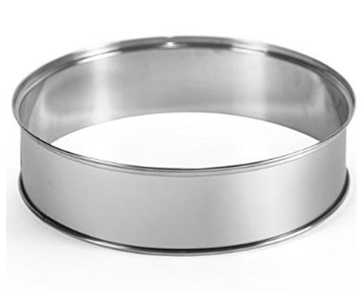 "Mellerware Extender Ring Stainless Steel ""Turbo cook"""