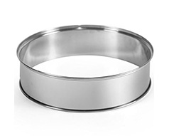"Mellerware Extender Ring Stainless Steel ""Turbo cook"""