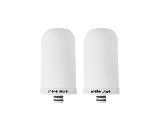 Mellerware Filter 2 Pack Ceramic White 2000L Per Filter