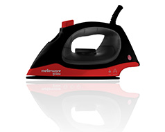 "Mellerware Iron Steam / Dry Non-Stick Black 100ml 1200W ""Glide"""