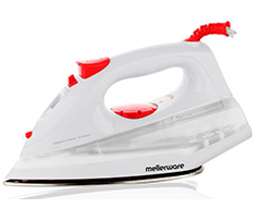 "Mellerware Iron Steam / Dry / Spray Stainless Steel White 190ml 1400W ""Orion"""