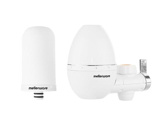 Mellerware Tap Filter Plastic White 2000L Per Filter