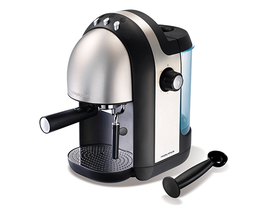 1000W Accents Brushed Espresso Maker