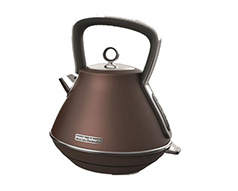 "Morphy Richards Kettle 360 Degree Cordless Stainless Steel Bronze 1.5L 2200W ""Evoke"""