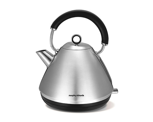"""Morphy Richards Kettle 360 Degree Cordless Stainless Steel 1.5L 2200W """"Accents"""""""