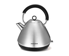 "Morphy Richards Kettle 360 Degree Cordless Stainless Steel 1.5L 2200W ""Accents"""