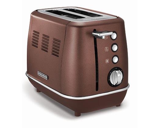 "Morphy Richards Toaster 2 Slice Stainless Steel Bronze 900W ""Evoke"""