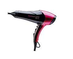 "Solac Hair Dryer 3 Heat Settings Plastic Black 2 Speed 2200W ""Iconic Expert"""