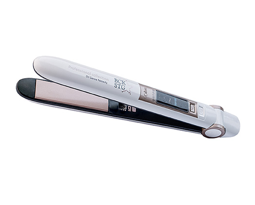 "Solac Hair Straightener Adjustable Temperature Ceramic White ""Oil Sense Remedy"""