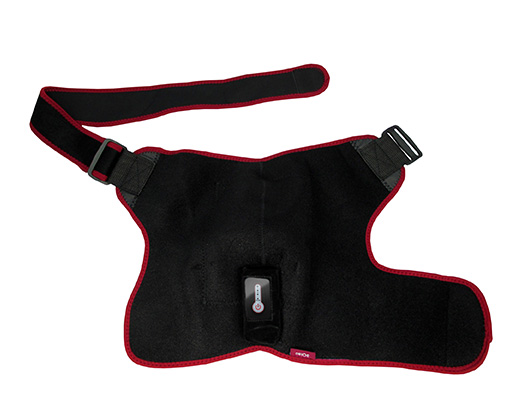 Solac Heating Pad For Shoulder Black 3 Heat Settings