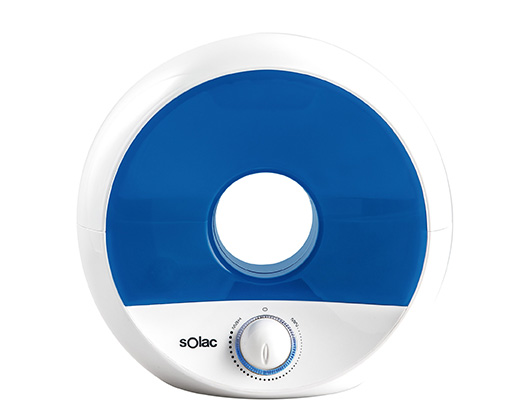 "Solac Humidifier Plastic Blue 2L W ""Ultra Sonic"""