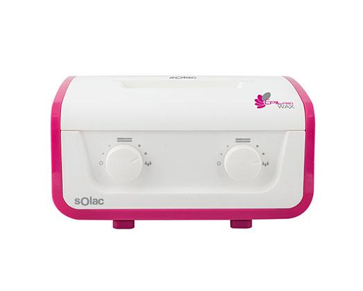 "Solac Wax Epilator Variable Temperature Control Plastic Pink Heat Settings 325W ""Epil Pro Wax"""