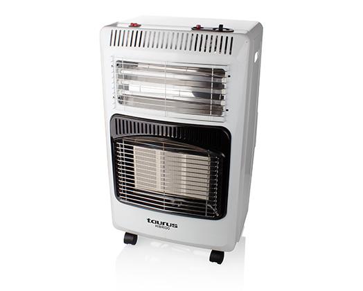 "Foldable Heater Electric & Gas Aluminium White 4200W ""Hibrido"""