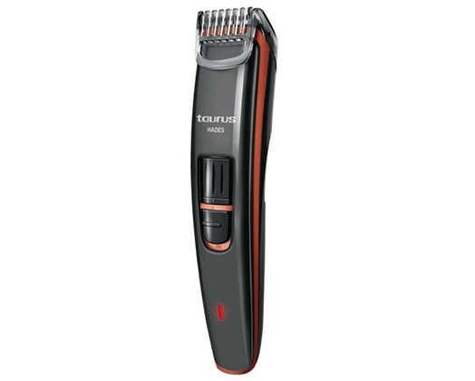 "Taurus Beard Trimmer Rechargeable Grey ""Hades"""