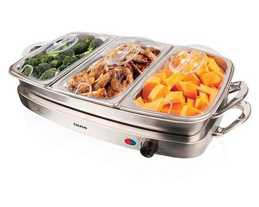 "Buffet Server Multifunction Stainless Steel 450W ""Servidor"""