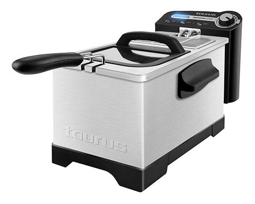 "Taurus Deep Fryer Adjustable Temperature Black 3L 2100W ""Professional Plus 3"""
