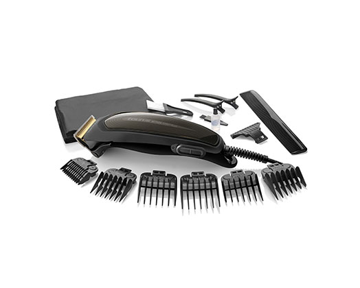 "Taurus Hair Clipper 16 Piece Set Black 6W ""Mithos Avant Plus"""