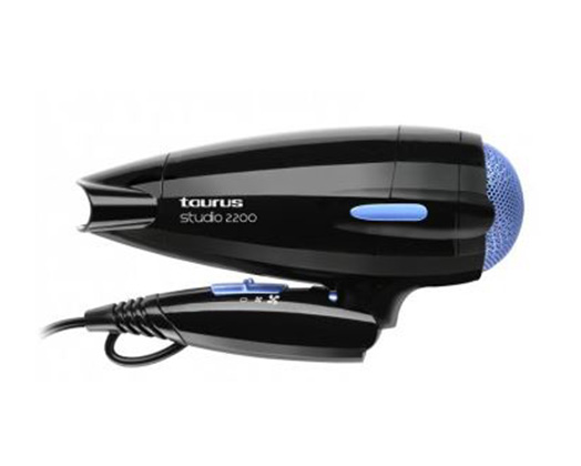 "Taurus Hair Dryer With Diffuser Black 2200W ""Studio 2200"""