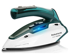 "Taurus Iron Steam / Dry Ceramic Green 800-1150W ""Easy Travel"""