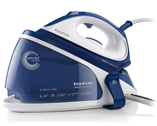 "Taurus Iron Steam Station Ceramic Blue 1L 2200W ""Sensity Compact NS"""