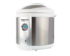 "Taurus Pressure Cooker Digital Stainless Steel Brushed 6l 900W ""Pressio Cuina"""