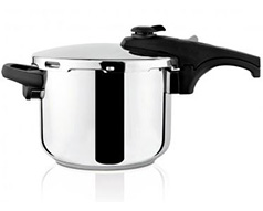 "Taurus Pressure Cooker With Valve Pressure Controller Stainless Steel 10l ""Ontime Rapid"""