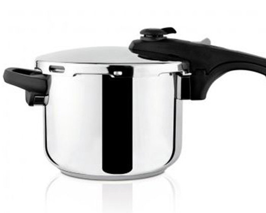 "Taurus Pressure Cooker With Valve Pressure Controller Stainless Steel 6l ""Ontime Rapid"""