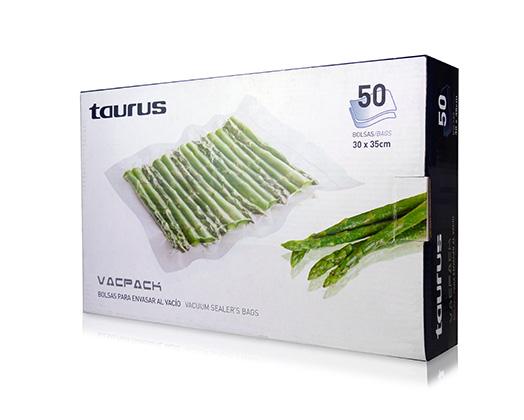"""Taurus Vacuum Sealer Bags Plastic 20 x 30cm """"VacPack"""""""