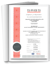 The Creative Housewares ISO 9001:2015 Certificate