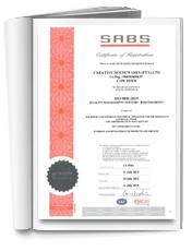 The Creative Housewares ISO 9001:2015 Certificate