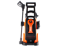 "Casals High Pressure Washer With Attachments Plastic Orange 135Bar 1800W ""JHP18"""