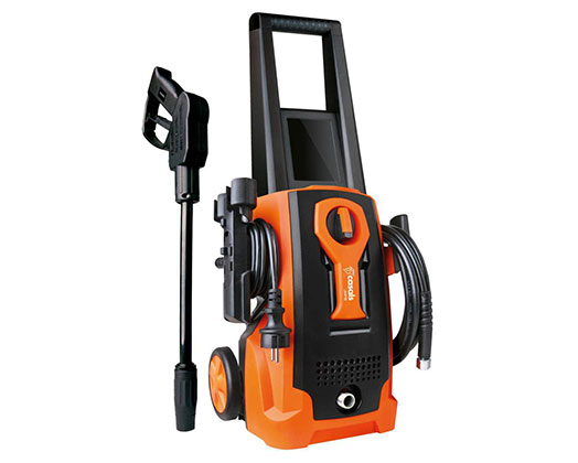 "Casals High Pressure Washer With Attachments Plastic Orange 90Bar 1600W ""JHP16"""