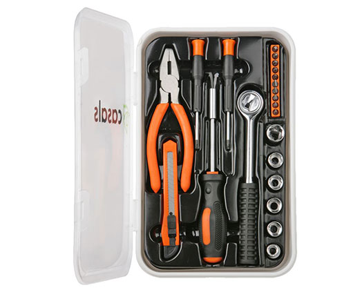 Casals Hand Tools 22 Piece Set Steel Orange