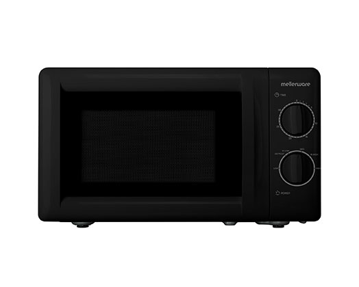 "Mellerware Microwave 6 Power Levels Black 20L 700W ""Libra"""