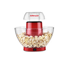 "Mellerware Popcorn Maker Plastic Red 4.5L 1200W ""Pop & Go"""