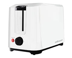 "Toaster 2 Slice 750W Cool Touch White""Eco"""