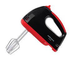 "Mellerware Hand Mixer Plastic Black 7 Speed 150W ""Prima"""