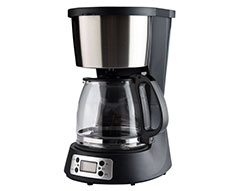 "Mellerware Coffee Maker Digital Drip Filter Black 1.5L 1000W ""Seattle"""