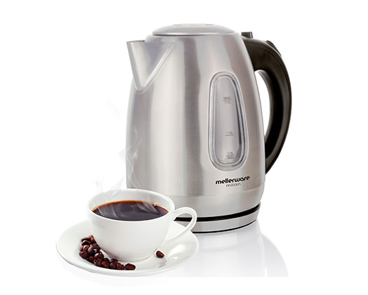 Milan 360 Concealed Stainless Steel Kettle